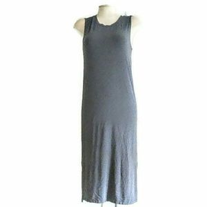 Madewell Heather Gray midi Tank Dress XS